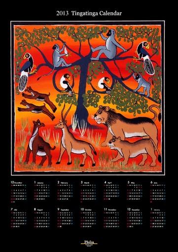 ティンガティンガカレンダー2013年版